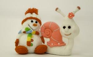 снеговик и улитка