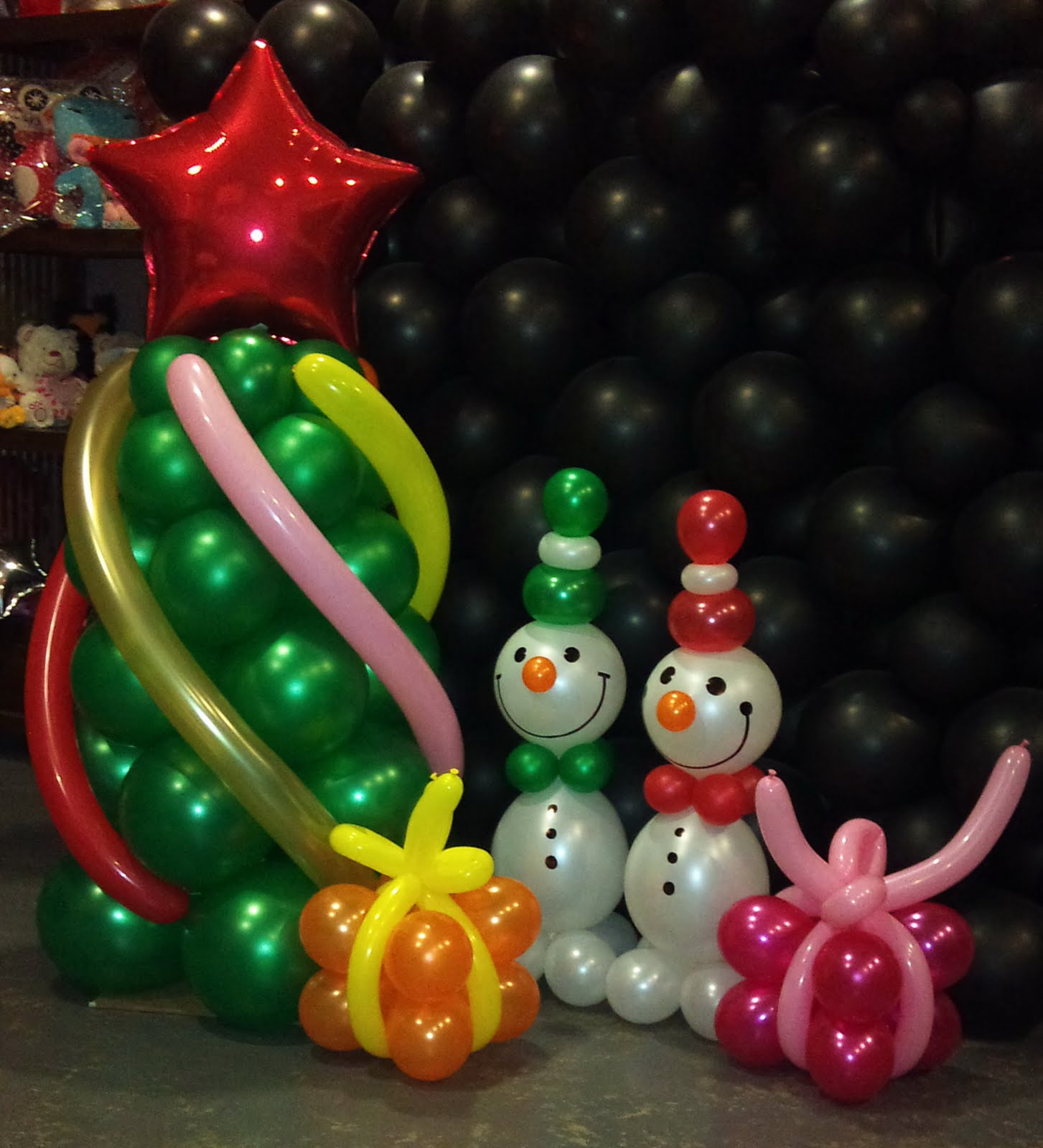 Оформление новогоднего праздника во Фрязино