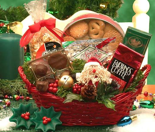 Подарочные корзины на Новый Год