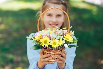 Весенние цветы для маленькой принцессы