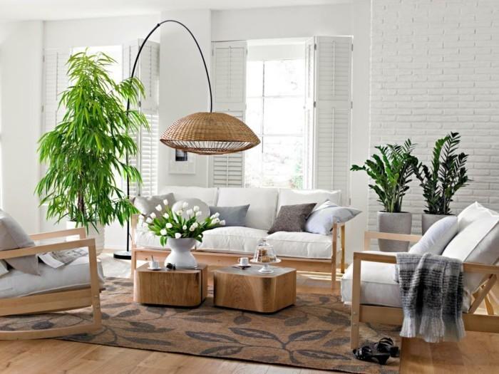 Озеленение интерьера. Живые растения и срезанные композиции