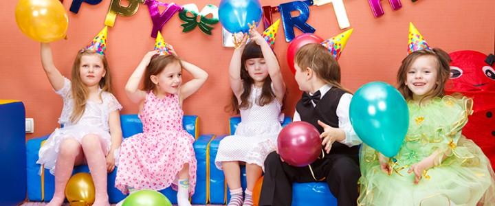 День рождения с воздушными шариками